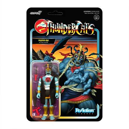 THUNDERCATS WAVE 1 MUMM-RA REACTION ACTIONFIGUR