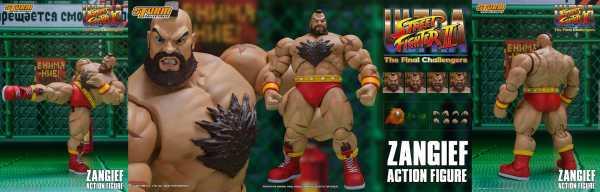 VORBESTELLUNG ! Ultra Street Fighter II: The Final Challengers 1/12 Zangief 19 cm Actionfigur