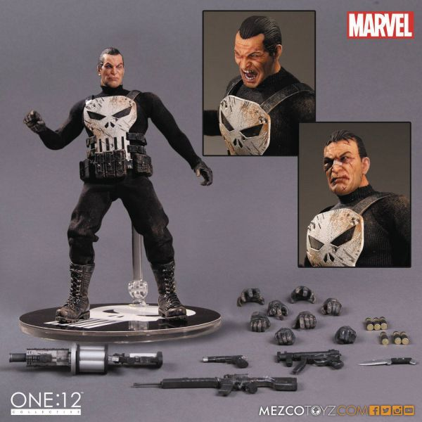 ONE-12 COLLECTIVE MARVEL PUNISHER ACTIONFIGUR