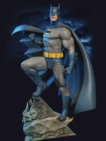 BATMAN SUPER POWERS MAQUETTE STATUE