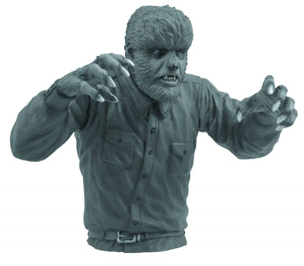 UNIVERSAL MONSTERS WOLFMAN BLACK&WHITE SPARDOSE