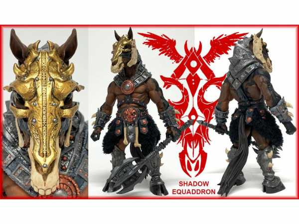 VORBESTELLUNG ! Mythic Legions: Shadow Equaddron 23 cm Actionfigur