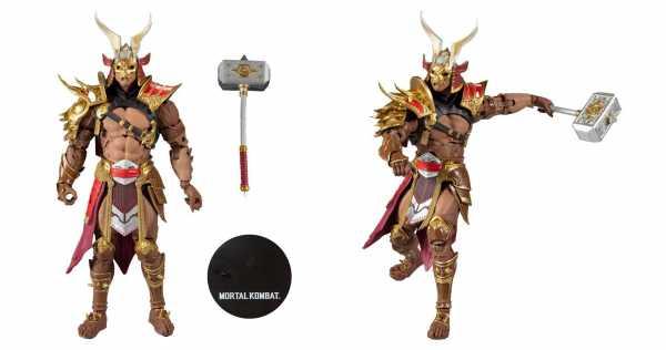 VORBESTELLUNG ! Mortal Kombat Shao Khan 18 cm Actionfigur