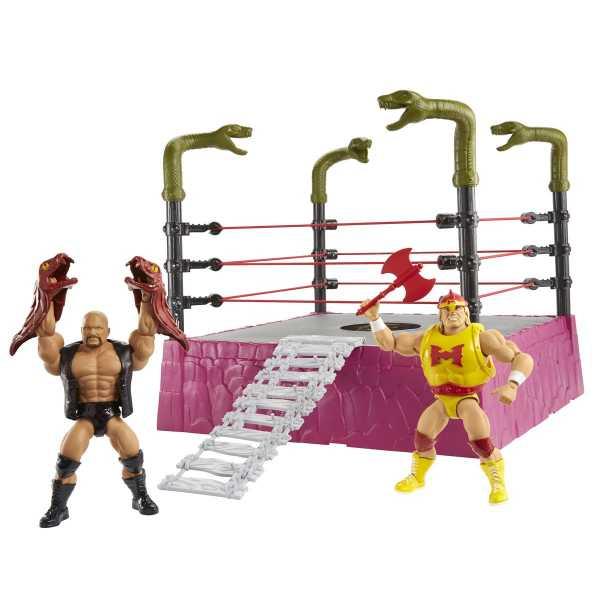 VORBESTELLUNG ! WWE Masters of the WWE Universe Rattlesnake Mountain Bundle