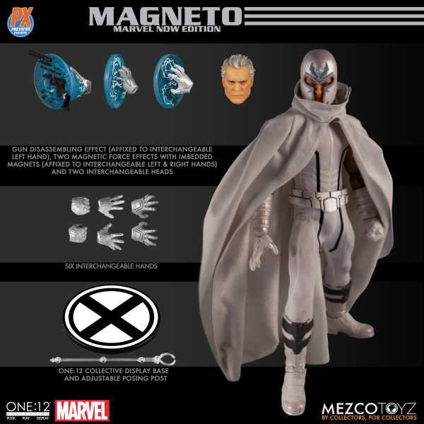 VORBESTELLUNG ! ONE-12 COLLECTIVE MARVEL PX MAGNETO MARVEL NOW ACTIONFIGUR