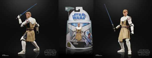 VORBESTELLUNG ! Star Wars Clone Wars Black Series Lucasfilm 50th Ann. Obi-Wan Kenobi Actionfigur