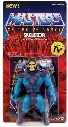 MASTERS OF THE UNIVERSE VINTAGE WAVE 1 SKELETOR
