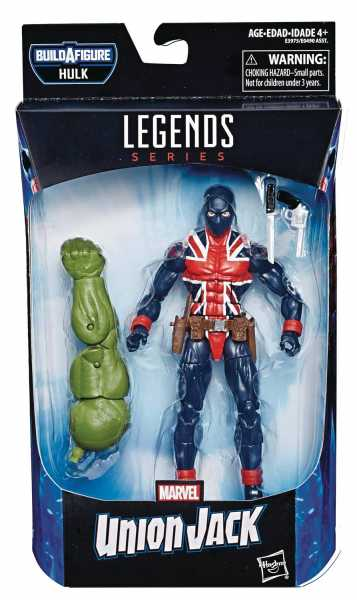 AVENGERS 4 LEGENDS UNION JACK 15 cm ACTIONFIGUR ohne BAF-Teil