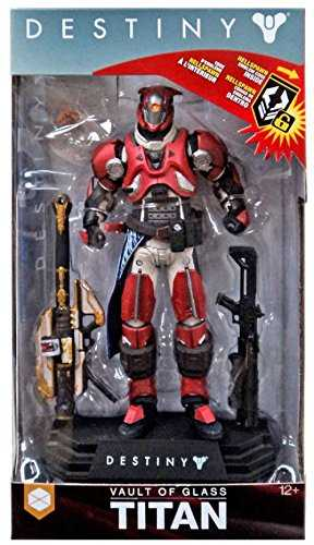 DESTINY VAULT OF GLASS TITAN WITH FEUD UNFADING SHADER 17,5 cm ACTIONFIGUR