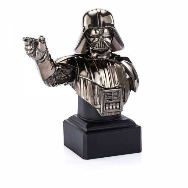 VORBESTELLUNG ! Star Wars Episode XI Pewter Collectible Black Darth Vader Limited Edt. 21 cm Büste