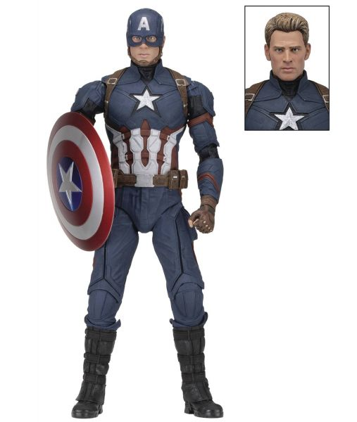CAPTAIN AMERICA CIVIL WAR CAPTAIN AMERICA 1/4 SCALE ACTIONFIGUR