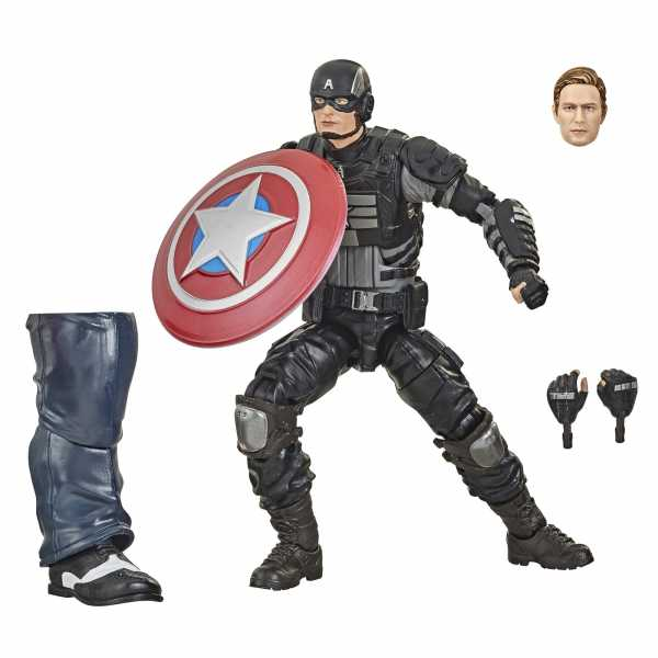 VORBESTELLUNG ! Marvel Legends Series Gamerverse Stealth Captain America 6 Inch Actionfigur
