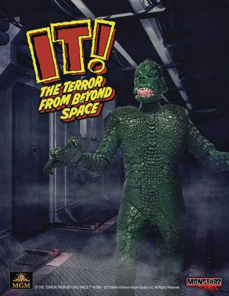 IT TERROR FROM BEYOND SPACE GREEN 10 cm RETRO ACTIONFIGUR