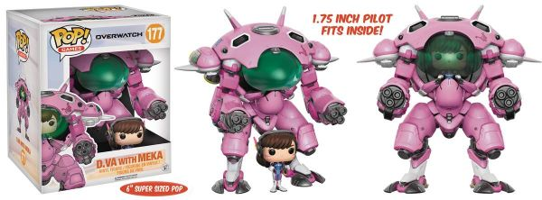 POP OVERWATCH 15 cm MEKA WITH D. VA VINYL FIGUR 2-PACK