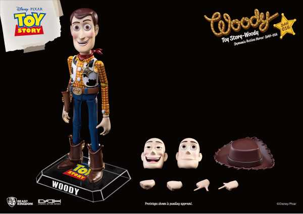 TOY STORY DAH-015 DYN 8-CTION HEROES WOODY PX ACTIONFIGUR