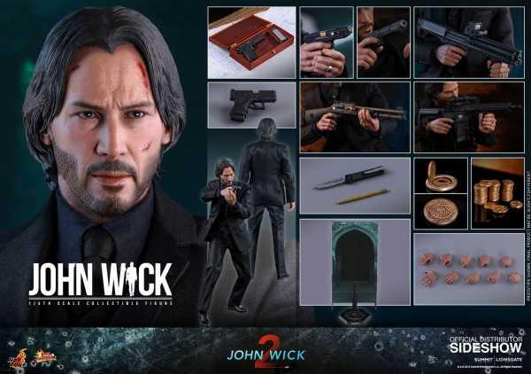John Wick Kapitel 2 Movie Masterpiece 1/6 John Wick 31 cm Actionfigur