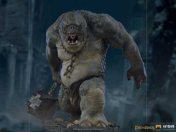 VORBESTELLUNG ! Herr der Ringe 1/10 Cave Troll 46 cm Deluxe BDS Art Scale Statue