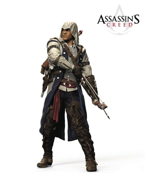 COLOR TOPS RED ASSASSINS CREED CONNOR 17,5cm ACTIONFIGUR