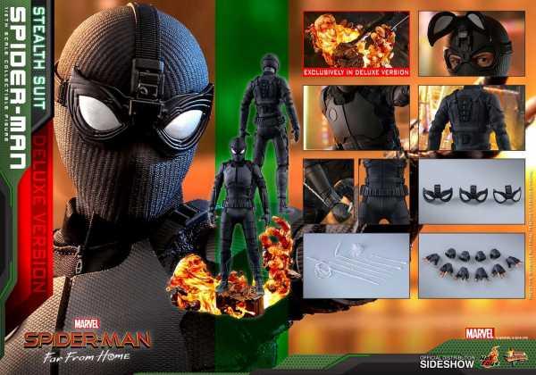 VORBESTELLUNG ! Spider-Man: Far From Home MM Actionfigur 1/6 Spider-Man (Stealth Suit) Deluxe Versio