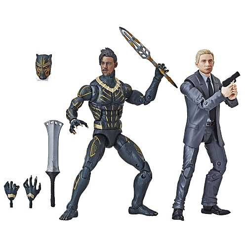 MARVEL LEGENDS EVERETT ROSS & ERIK KILLMONGER ACTIONFIGUREN 2-PACK