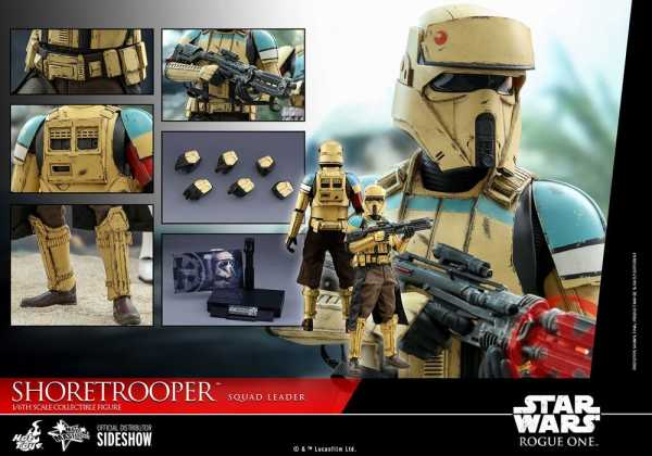 VORBESTELLUNG ! Rogue One: A Star Wars Story 1/6 Shoretrooper Squad Leader 30 cm Actionfigur
