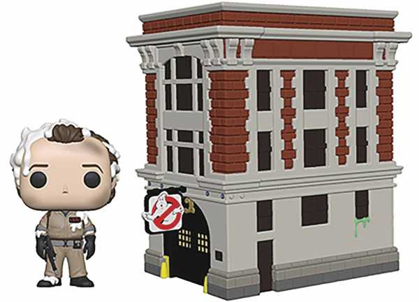 POP TOWN GHOSTBUSTERS PETER WITH HOUSE VINYL FIGUR