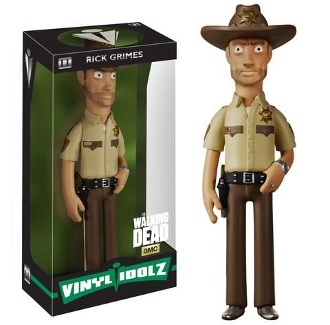 VINYL IDOLZ THE WALKING DEAD RICK GRIMES VINYL FIGUR