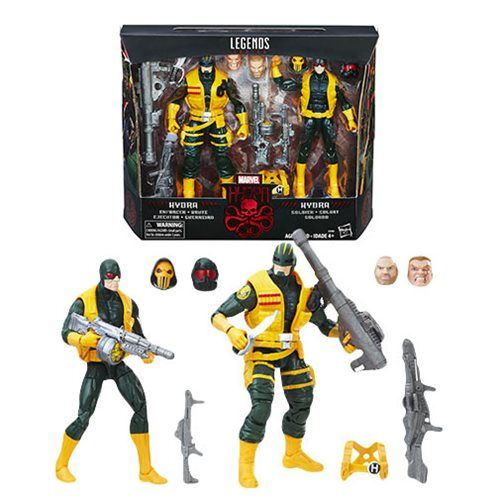 "MARVEL LEGENDS HYDRA SOLDIERS TOYS ""R"" US EXCLUSIVE ACTIONFIGUREN 2-PACK"