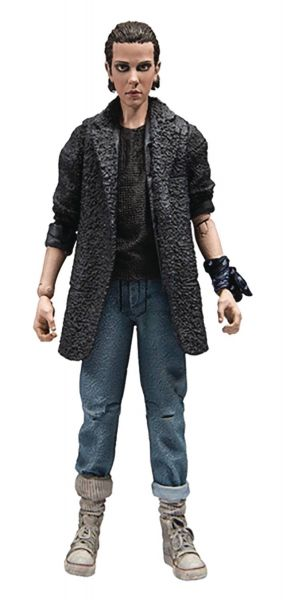 STRANGER THINGS 17,5 cm SERIES 3 PUNK ELEVEN ACTIONFIGUR