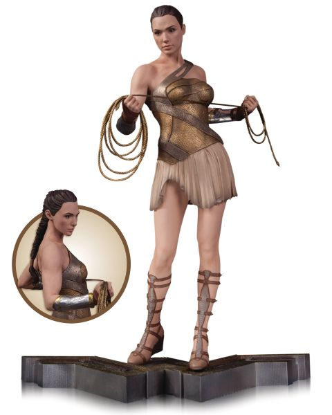 WONDER WOMAN MOVIE WONDER WOMAN TRAINING OUTFIT STATUE