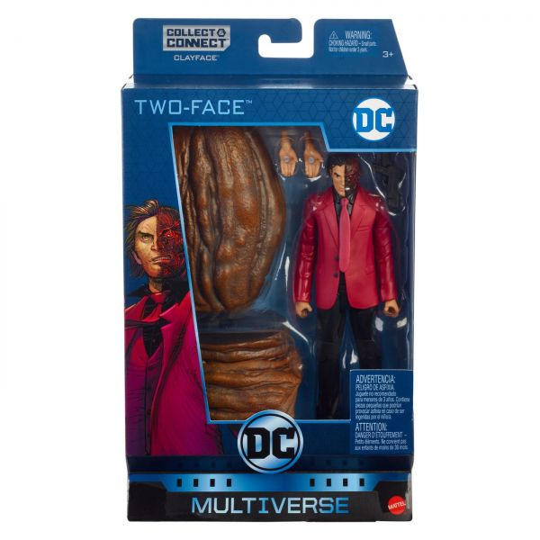 DC MULTIVERSE 15 cm ALL-STAR BATMAN TWO-FACE ACTIONFIGUR