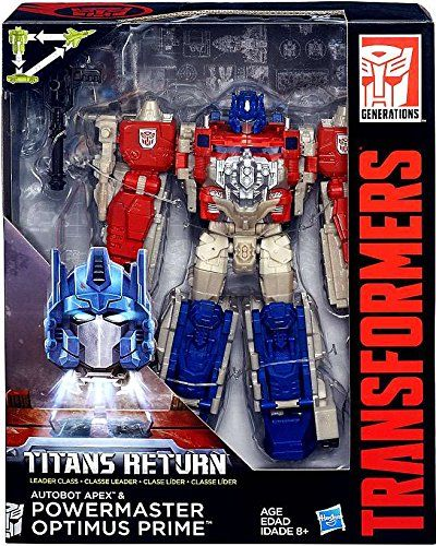 TRANSFORMERS TITANS RETURN LEADER CLASS POWERMASTER OPTIMUS PRIME ACTIONFIGUR