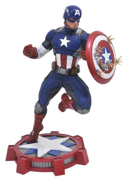 MARVEL GALLERY MARVEL NOW CAPTAIN AMERICA PVC STATUE