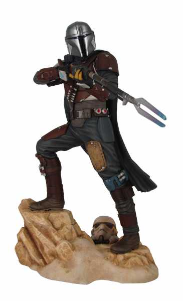 VORBESTELLUNG ! STAR WARS PREMIER COLLECTION THE MANDALORIAN MK1 STATUE