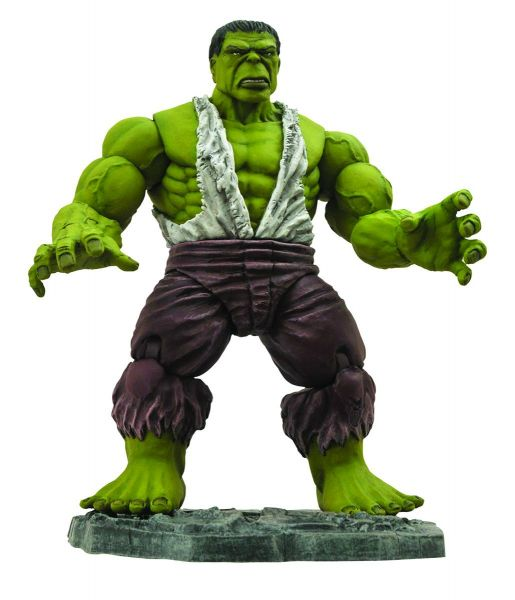 MARVEL SELECT SAVAGE HULK ACTIONFIGUR
