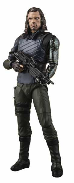 AVENGERS INFINITY WAR BUCKY WITH EFFECT S.H. FIGUARTS ACTIONFIGUR