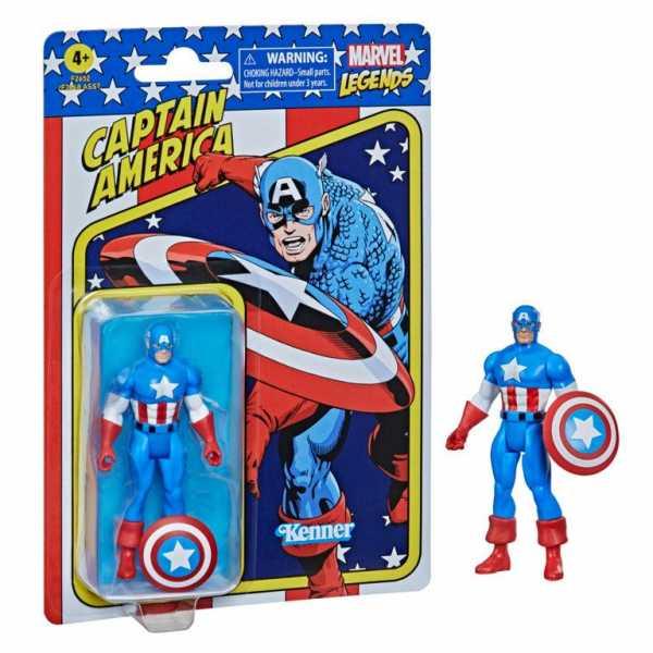 VORBESTELLUNG ! Marvel Legends Retro Captain America Actionfigur