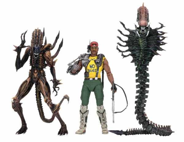 ALIENS SERIE 13 ACTIONFIGUREN SET