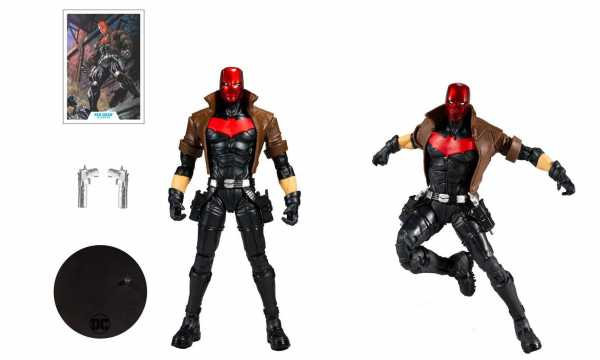 VORBESTELLUNG ! DC Multiverse Red Hood 18 cm Actionfigur