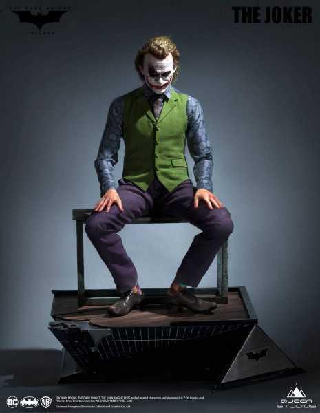 VORBESTELLUNG ! The Dark Knight 1/3 Heath Ledger Joker 52 cm Statue Special Edition