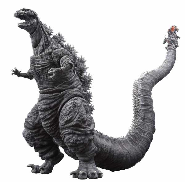 GODZILLA S.H. MONSTERARTS SHIN GODZILLA 2016 ACTIONFIGUR FROZEN VERSION