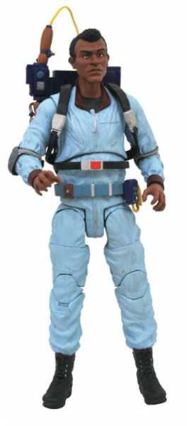 GHOSTBUSTERS SELECT SERIES 9 WINSTON ZEDDEMORE ACTIONFIGUR