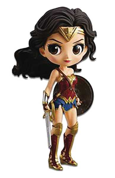 DC JUSTICE LEAGUE Q-POSKET WONDER WOMAN FIGUR