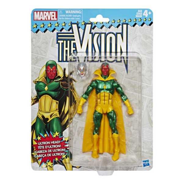 MARVEL SUPER HEROES VINTAGE 15 cm VISION ACTIONFIGUR
