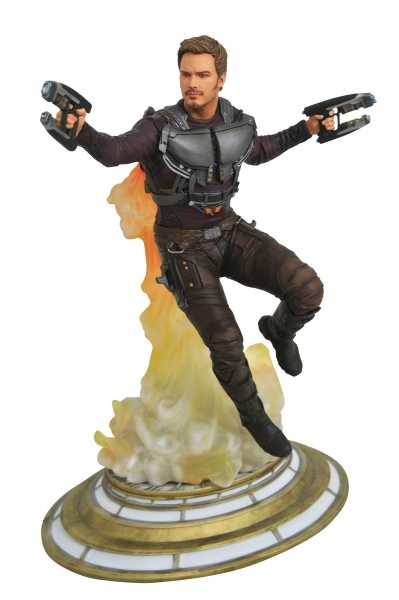 MARVEL GALLERY GUARDIANS OF THE GALAXY MASKLESS STAR-LORD PVC STATUE