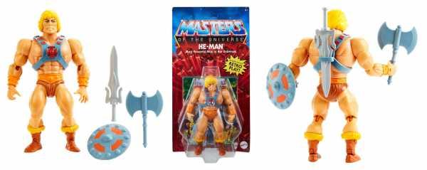 VORBESTELLUNG ! Masters of the Universe Origins 2021 Classic He-Man 14 cm Actionfigur