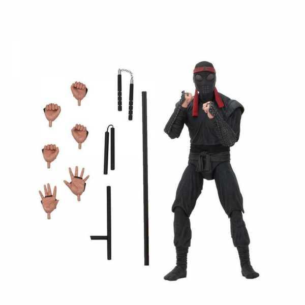 Teenage Mutant Ninja Turtles Melee Foot Soldier Actionfigur-Beschädigte Verpackung