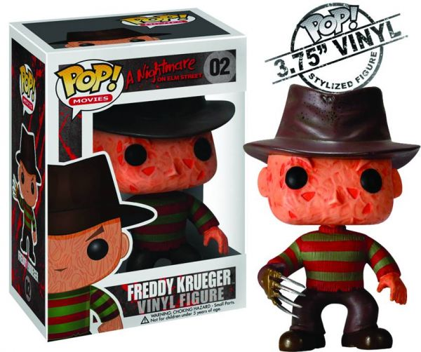 POP A NIGHTMARE ON ELM STREET FREDDY KRUEGER FIGUR