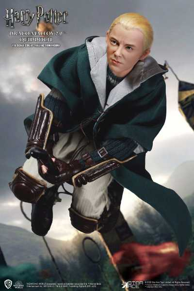 VORBESTELLUNG ! Harry Potter My Favourite Movie 1/6 Draco Malfoy 2.0 Quidditch Ver. 26cm Actionfigur
