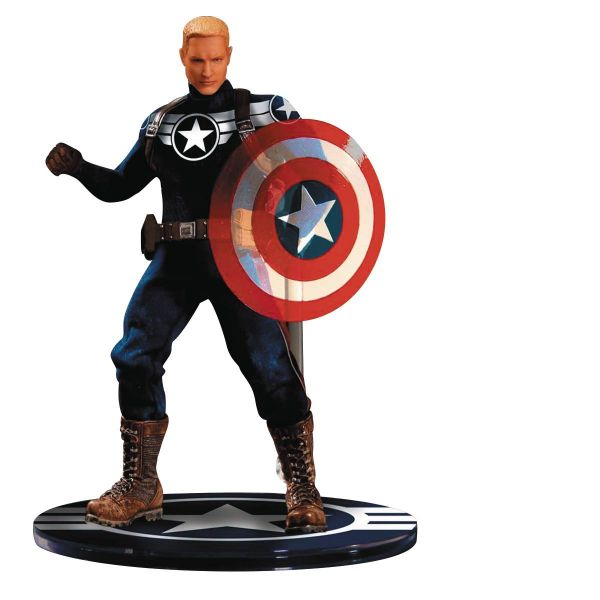 ONE-12 COLLECTIVE MARVEL PX COMMANDER ROGERS ACTIONFIGUR